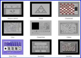 Presentación colección juegos para geos de commodore