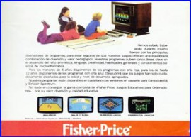 Presentación videojuegos de Fisher-Price