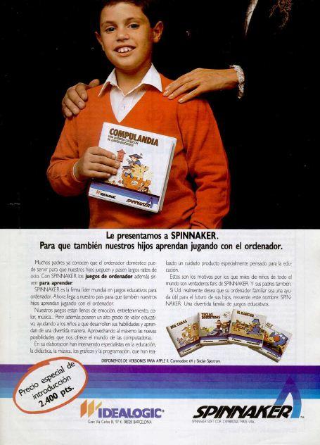 Publicidad Videojuegos Spinnaker – Idealogic