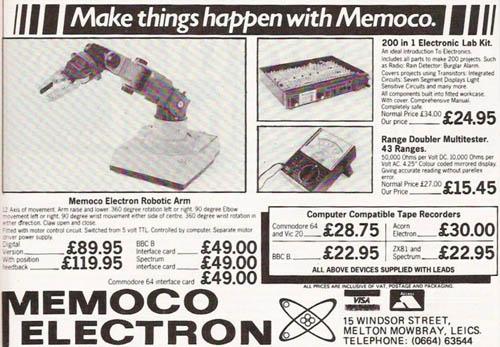 Publicidad de Memoco Electron – 1