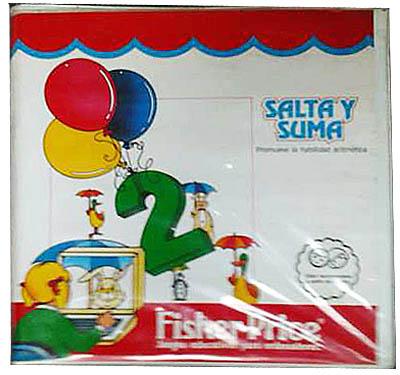 Salta y suma – Fisher Price – Commodore 64