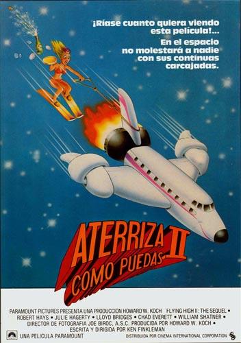 Carátula Aterriza como Puedas II