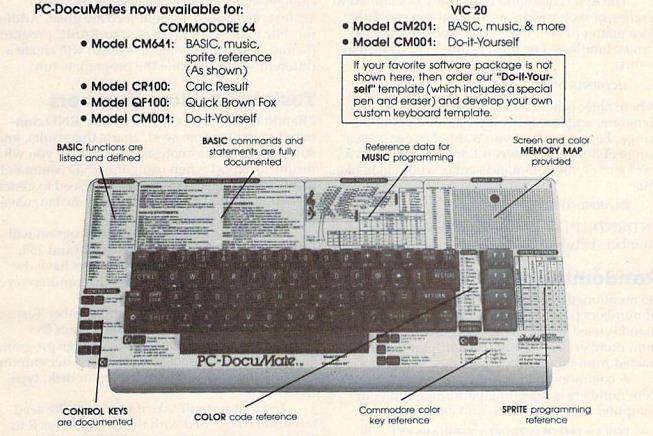 Pc-DocuMate Commodore 64 - Vic 20