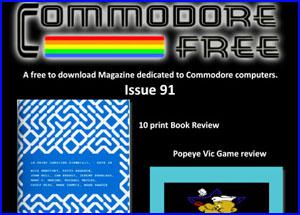 Presentación commodore free magazine 91