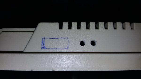 Instalación Gotek + Floppy internos en Amiga 500 con selector (18)