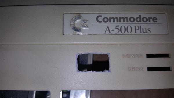 Instalación Gotek + Floppy internos en Amiga 500 con selector (4)