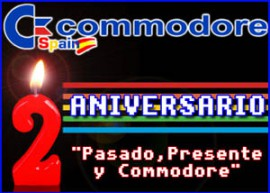 Presentación segundo aniversario commodore spain