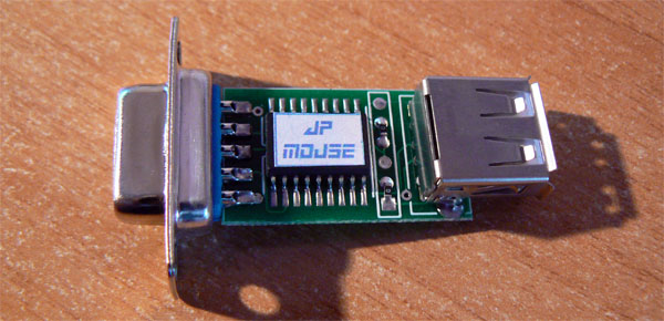 Adaptador JP-Mouse ratón Amiga Atari
