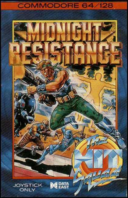 Midnight Resistance – Commodore 64