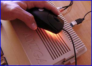 Presentación Adaptador ratón JP-Mouse para Amiga y Atari