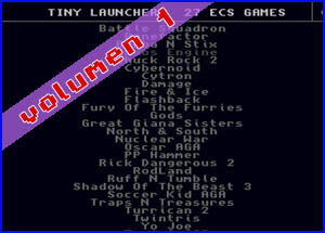 Presentación Tiny Launcher 27in1 Amiga Collection