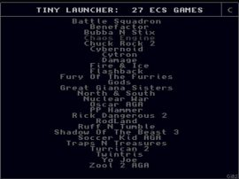 Tyni Launcher Amiga Collection- Vol1