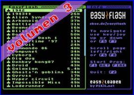 Presentación EasyFlash Vol3 Commodore 64