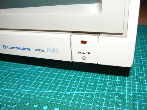 Reparación Monitor Commodore Amiga 1081 (2)
