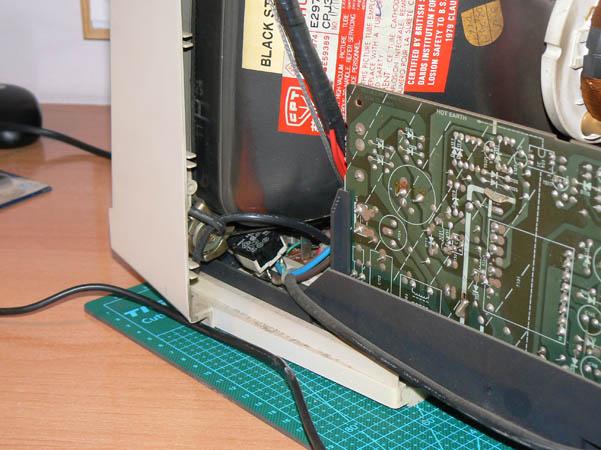 Reparación Monitor Commodore Amiga 1081 (4)