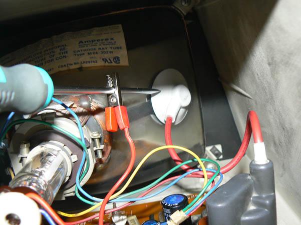 Reparación Monitor Commodore Pet 4032 (5)
