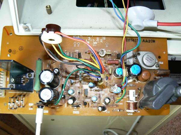 Reparación Monitor Commodore Pet 4032 (6)