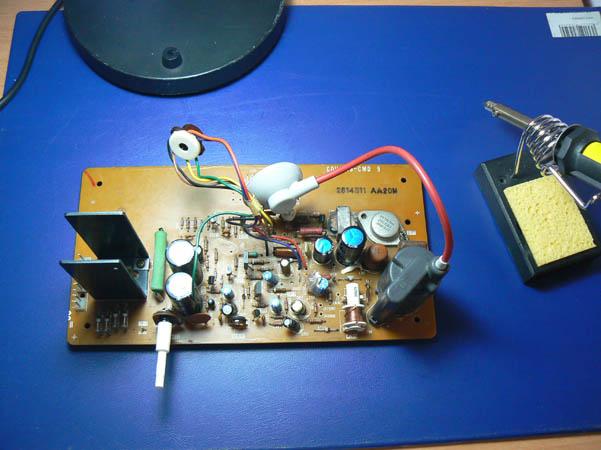 Reparación Monitor Commodore Pet 4032 (7)