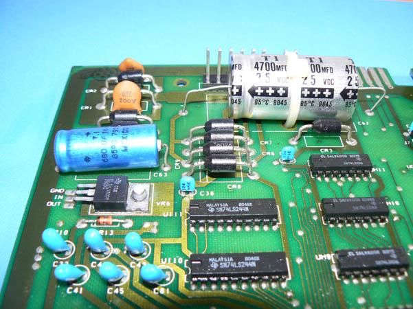 Reparación Placa Commodore Pet CBM 4032 (3)