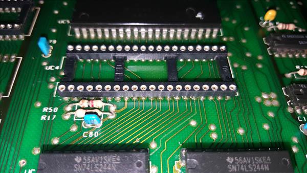 Reparación final Commodore Pet – CBM 4032 (10)