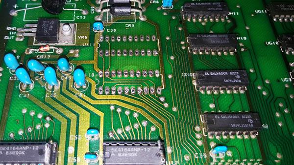 Reparación final Commodore Pet – CBM 4032 (12)