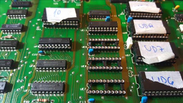 Reparación final Commodore Pet – CBM 4032 (14)
