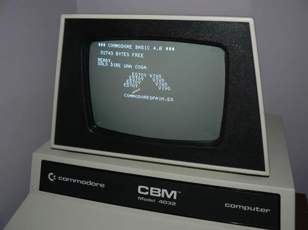 Reparación final Commodore Pet – CBM 4032 (26)