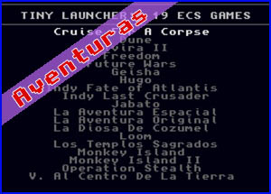 Presentación Tiny Launcher 19in1 Amiga Collection