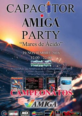 Capacitor Amiga Party – 2016