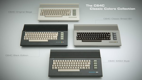 Carcasas Commodore C64c 2016