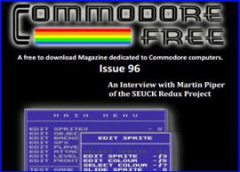 Presentación Commodore Free magazine 96