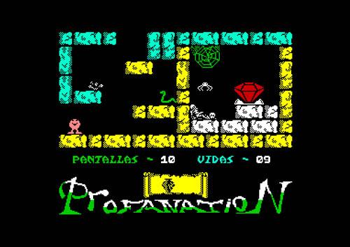 Pantalla10 – Abu Simbel C64