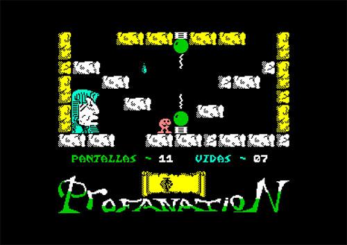 Pantalla11 – Abu Simbel C64