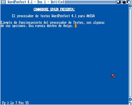 WordPerfect Amiga (1)