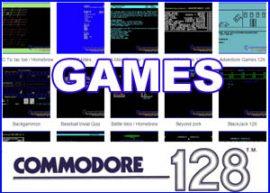 Presentación juegos commdore 128