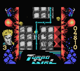 Turbo Girl (1988)(Dinamic Software)