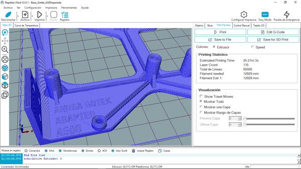 Diseño adaptador gotek 3D – 4