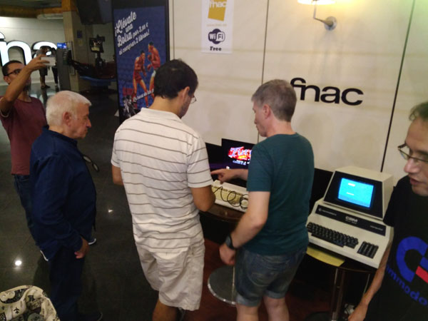 Fnac Alicante – Recuerdos de Commodore – 2