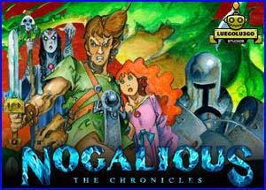 Presentación Nogalious Pc Commodore Spectrum Amstrad Msx