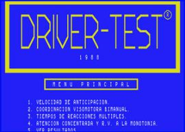 Presentación – Driver Test Commodore 64