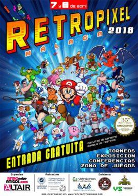 Retropixel Malaga 2018 – cartel final