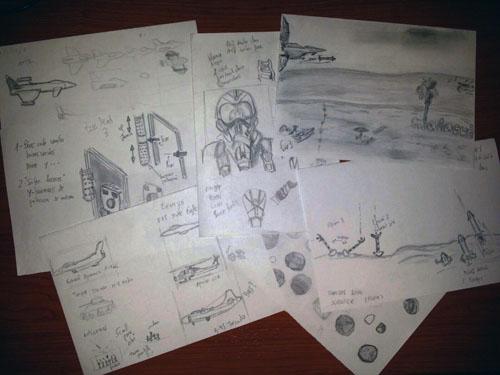 Making of Eurofighter Amiga (10)