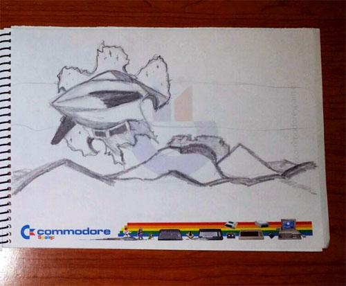 Making of Eurofighter Amiga (13)