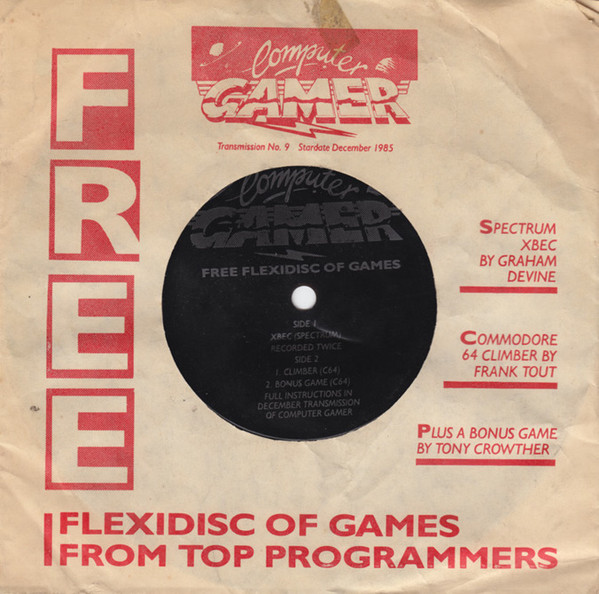 Computer Gamer – Free Flexidisc Of Games
