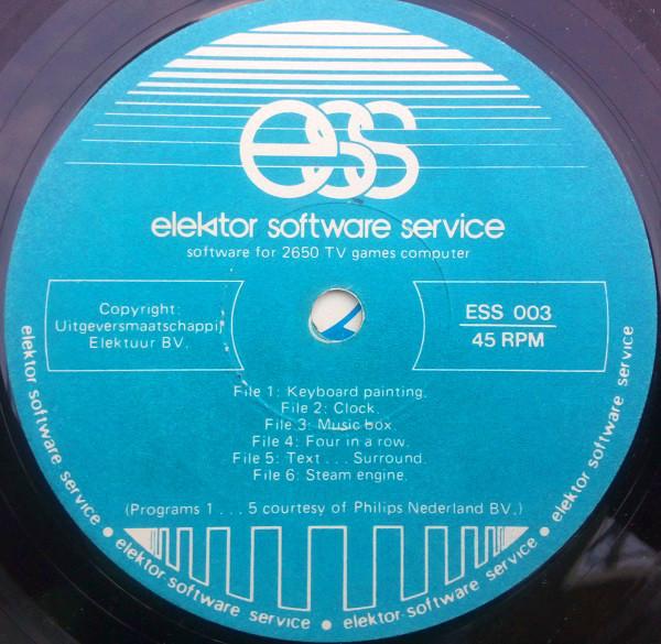Elektor Software Service – TVGC 01