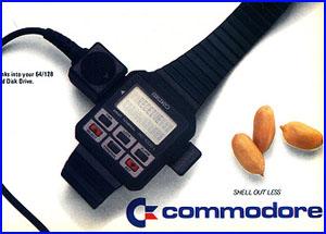 Plantilla Seiko RC1000 Commodore
