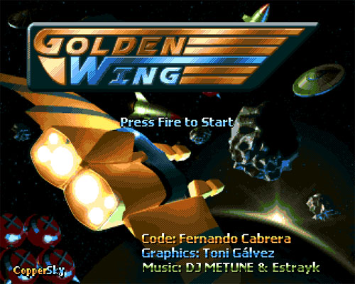 Golden Wing game Amiga – 02