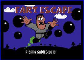 Presentación Fart Escape commodore 64