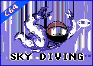 Presentación Sky Diving commodore 64