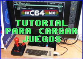 Presentacion tutorial carga juegos thec64 mini